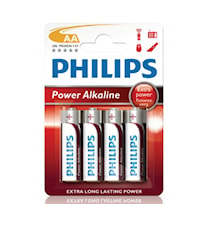 Fashion Power Alkaline AA LR06 4-pakning