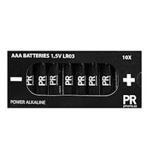 Batterie confezione da 10 Power Alkaline AAA