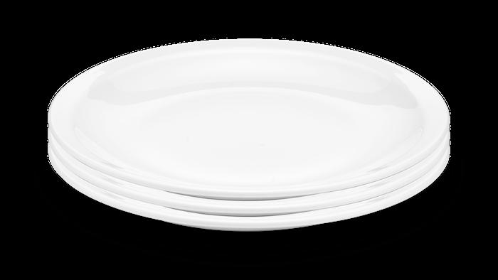 Toulouse Lautanen Valkoinen Ø 27cm 3-pakkaus