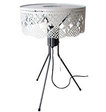 Gladys bordlampe - hvid