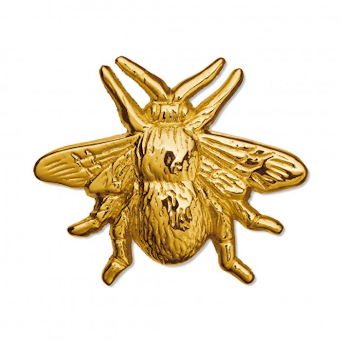 Bumble Bee Knopp Mässing