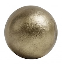 Deco ball koriste, kultainen, tasainen