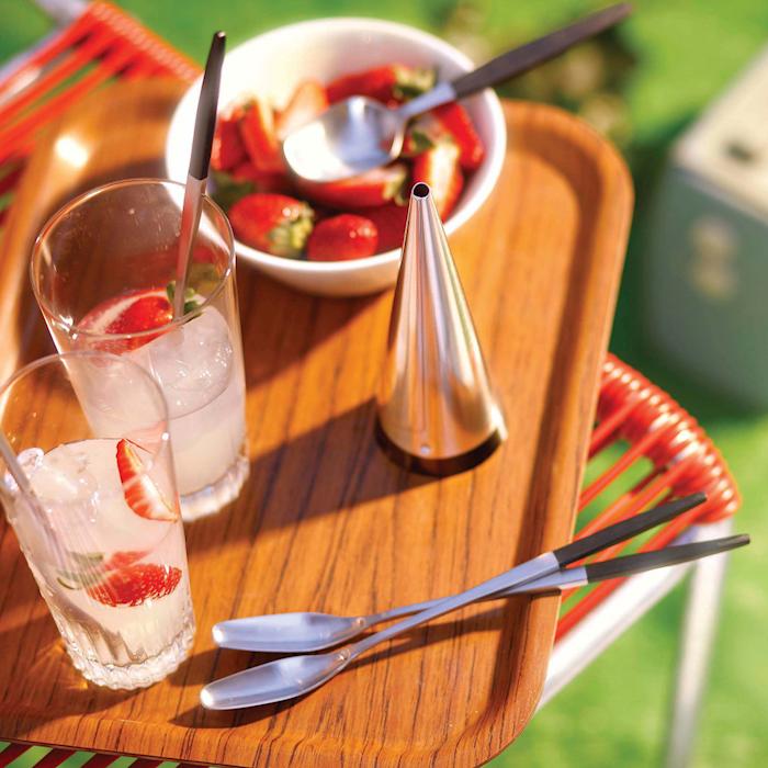 Focus de Luxe Forrett- og dessertskjeer (4) Rustfritt Stål