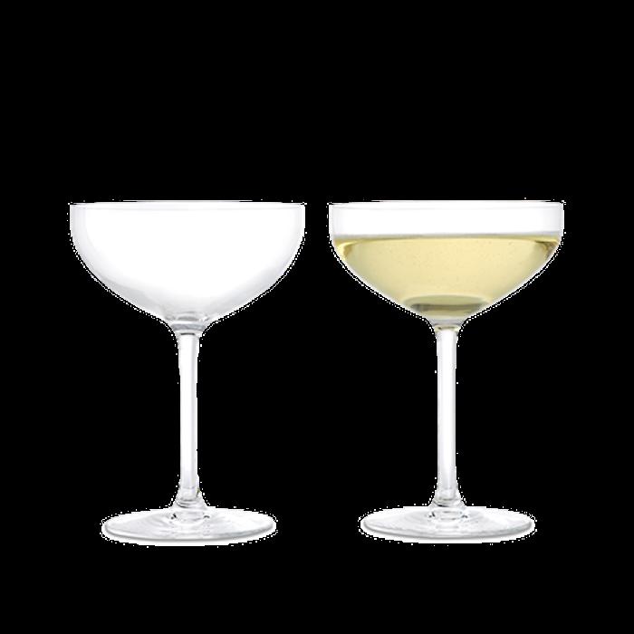 Coppa champagne Premium 39 cl trasparente 2 pz