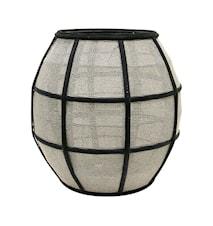 Bamboo Lampe Sort/Natural