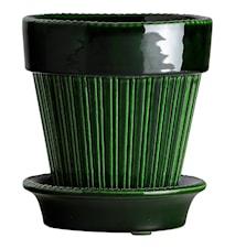 Simona Ruukku aluslautasella Glazed Green Emerald 16 cm