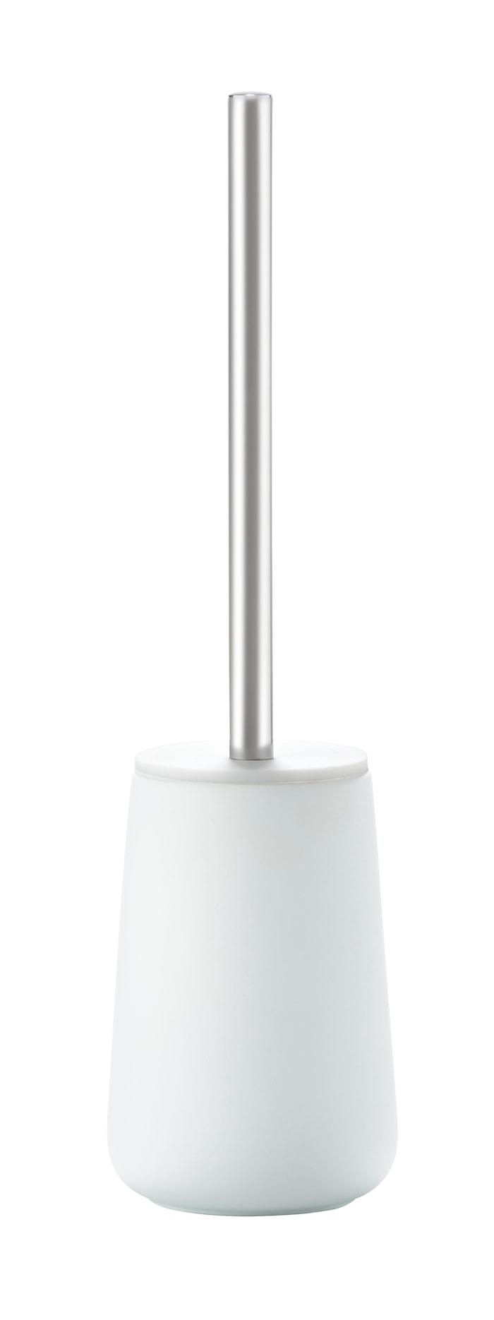 Toalettborste Porslin Vit 37 cm