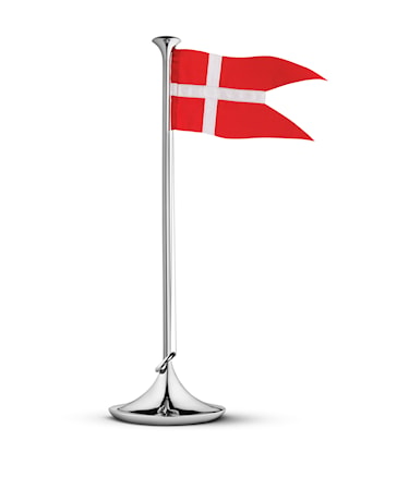 Bandiera Danimarca 39 cm in acciaio inossidabile