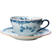 Ostindia teacup saucer for 27 cl