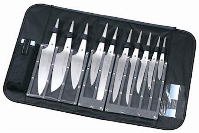 Design by F. A. Porsche Knivsæt komplet knivtaske