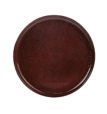 Bold & Basic Keramik Tallerken Brun
