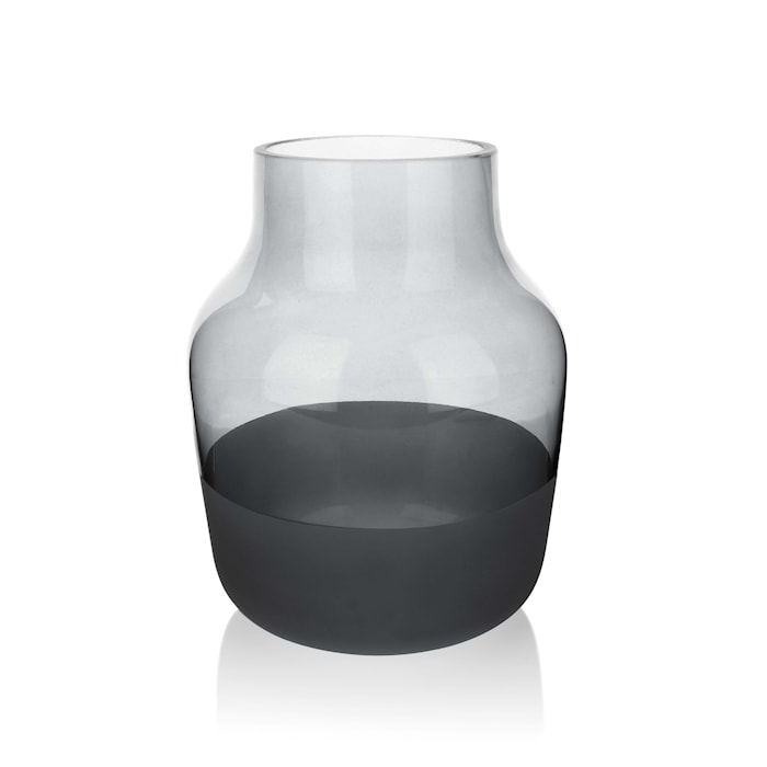 Mellem Vase 19 cm - Grå