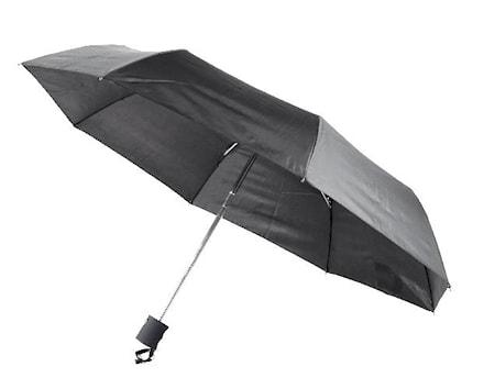 Minisateenvarjo automaattinen, musta