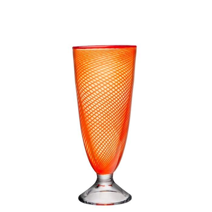 Red Rim oranssi Vaasi 26 cm