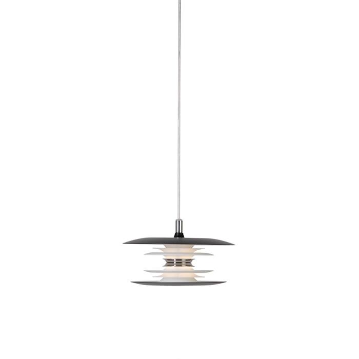 Diablo Pendel Mattsvart LED 20 cm