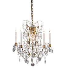 Ryholm Lampe 3 Lys Antikk