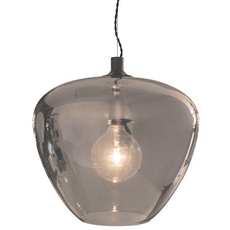 Bellissimo Grande Taklampe - Røyket grå