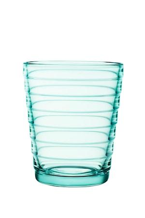 Aino Aalto glas 22 cl vattengrön 2-pack