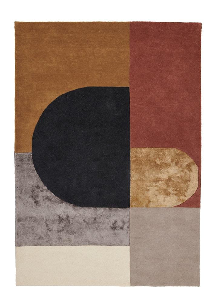 Vilja Matta Mustard 170x240 cm