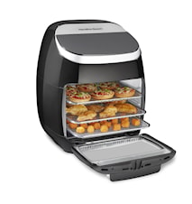 11 L Digital AirFryer Oven - Rotisserie & Roterende Mand