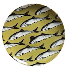 Go bananas! Fab fish tallrik