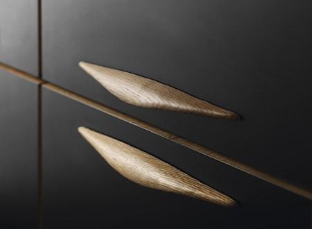 Håndtag Manta valnød - 24 cm