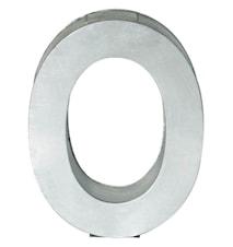 Metallvetica bokstav - O