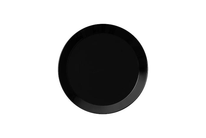 Teema Teller 21 cm Schwarz
