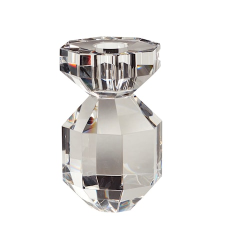 Ljusstake Glas klar 11 cm