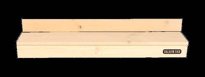 Mini Furu Grå Rectangular Low