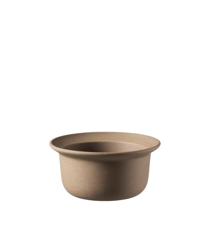 V18 Ildpot Keramikskål (S) Brun