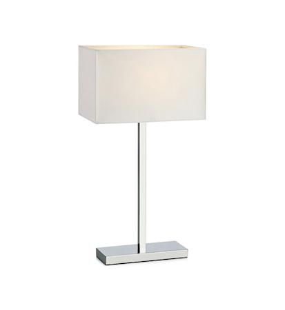Savoy Bordslampa Krom/Vit
