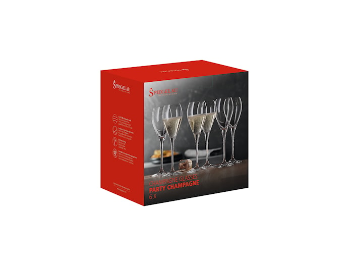 Champagne Special Glasses 6-pack