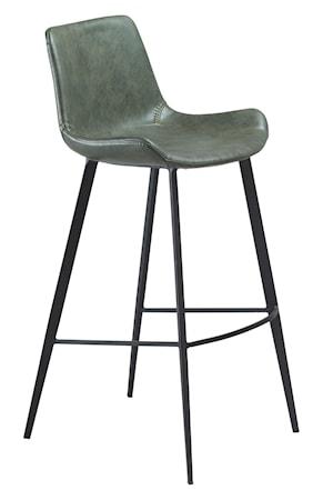 Barstol Hype Konstläder - Vintage Grön