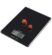 Kitchen scale Glass 5kg Black