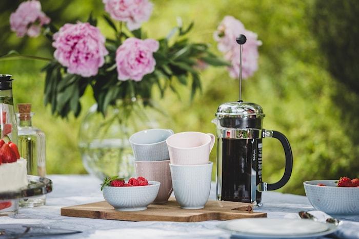 Chambord Kaffebryggare 8 koppar 1 liter Shiny