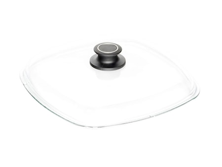 Glaslåg 28 X 28 cm