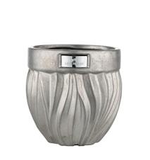 Blomsterpotte Flamia 16cm Silver