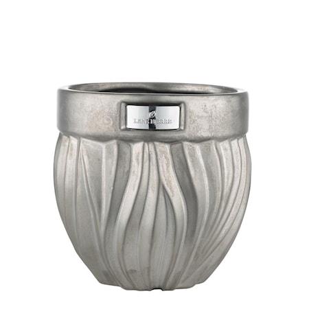 Blomkruka Flamia 16cm Silver