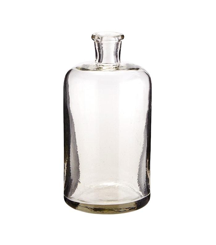 Glasflaske Ø 9 cm - Klar