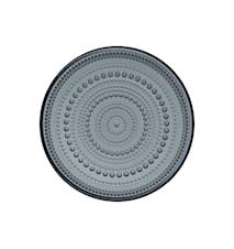 Kastehelmi Tallerken 170 mm Mørkegrå