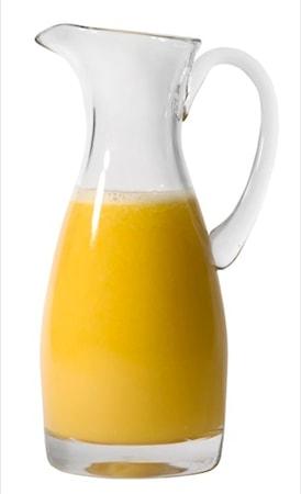 Karaffel i glass 1 liter