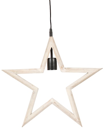 Farm Star Hvid 45cm