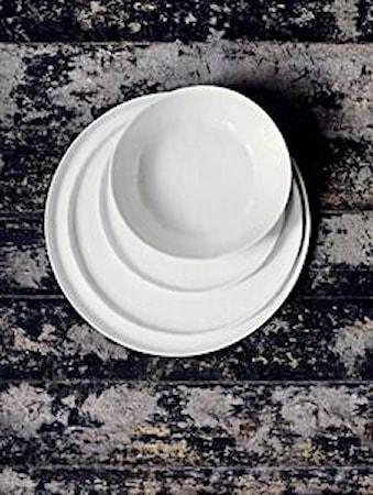 Liten Middagstallrik Vit 27 cm
