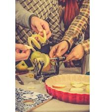 Äppelskalare Svart