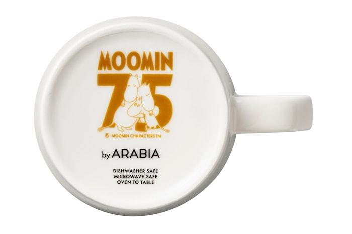 Mumin 75 År Mugg Muminhus Blå 30 Cl