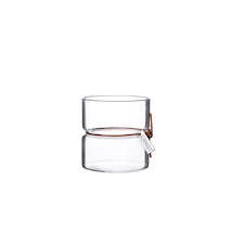 Varmelampe glass d8 h8 cm