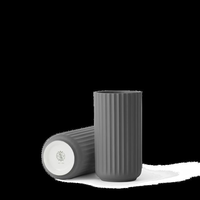 Maljakko Posliini Tummanharmaa  20,5cm
