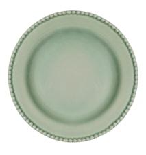 Assiett 24 cm Ängsgrön