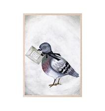 Poster Love Dove Letter 30 x 40 cm